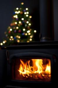 Christmas Woodstove