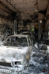 Burnt car service